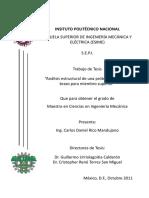 Tesis - Análisis Estructural de una Prótesis Biónica de Brazo para Miembro Superior.pdf
