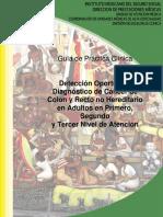 Detección Oportuna y Diagnóstico de Cáncer de Colon y Recto No Hereditario en Adultos