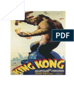 CARTEL PELÍCULA KING KONG