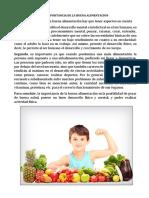 La Importancia de La Buena Alimentación
