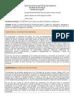 Reporte de Revision de Curriculum Minedu