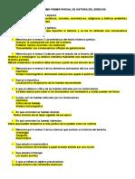 Guía de Examen Historia Del Derecho Mexicano