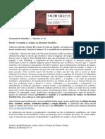 Opiniães n. 14 - Dossiê a Tragédia e o Trágico Na Literatura Brasileira