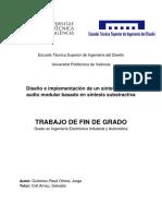 GUTIÉRREZ-RAVÉ - Diseño e Implementación de Un Sintetizador de Audio Modular Basado en Síntesis s...