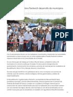 27-06-2019 Impulsa Gobernadora Pavlovich Desarrollo de Municipios de La Sierra - Uniobregon