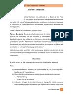 GENERALIDADES DE LA FACTURA CAMBIARÍA EN NICARAGUA