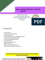 HACCP Analisis Peligros
