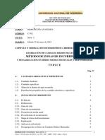 500 UNI-FIA-MIH Clase 5 Modelamiento - Zonas de Escurrimiento 25 May 2019