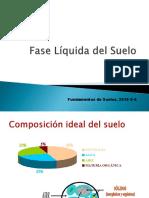 Clase Fase Líquida y Dinámica Del Agua