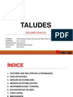 Geomecánica Taludes Ppt Final