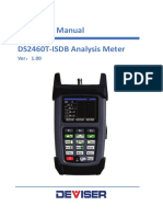 DS2460T-IsDB Operation Manual V1.00