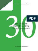 30 Años de las Maestrías en Educación