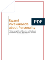 Swami Vivekananda About Personality & Magnetism