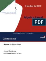 Silabo Algebra Lineal II MOD 2019