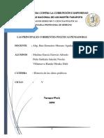 Corrientes Politicas Pensadoras
