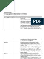 planificacion  4 basico