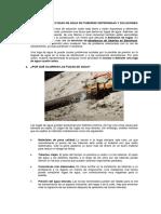 Cómo Detectar Fugas de Agua en Tuberías Enterradas y Soluciones