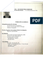 Salvador Perea Rodríguez