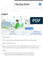 Mdk4 – Penetration Testing Tools