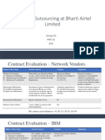 Strategic Outsourcing at Bharti Airtel Limited_Case Analysis