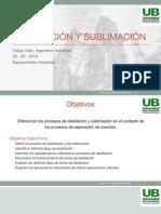 destilacion y procesos