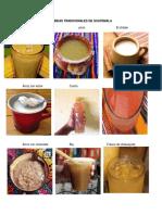 Bebidas y Refacciones Tradicionales de Guatemala