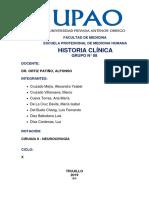 Historia Clinica Neuro Portafolio