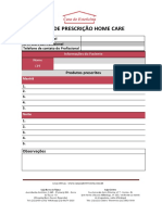 Ficha de Prescricao de Home Care