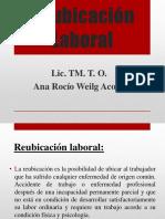 REUBICACION LABORAL CLASE N°16