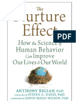 Anthony Biglan - Nurture Effect - Science of Human Behav Improve Lives - BESTS