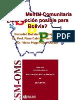 La Salud Mental Comunitaria ¿Una Opción posible