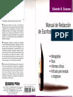 Manual de Redacción de Escritos de Investigación