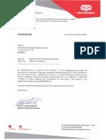 Valorac de BOnos Petroperu GCFI-MV-050-2018