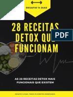 28 Receitas Detox Que Funcionam