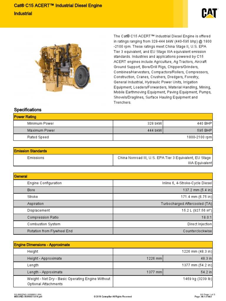 C15_ACERT_-18396631-004 | Diesel Engine | Engines
