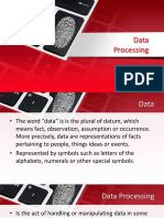 Grade 8 - Data Processing