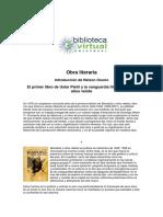 El Primer Libro de Uslar Pietri y La Vanguardia