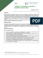 Geotecnologias Aplicadas a Levantamientos y Cartografia Catastral Urbana(1)