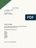 Notes Jun 22, 2014 Dermatology Part 3