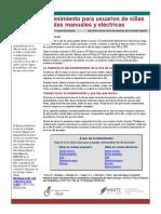MSKTC_Wheelchair Maintenance Factsheet 032618_Spanish