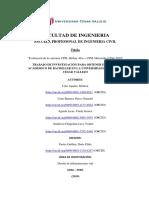 """Trabajo de investigacion titulada """"Evaluación de la carretera CPM. Herbay Alto – CPM. Hacienda el Palo 2019"""""""