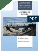 informe del puente la villa