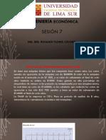 Ing. Economica _clase 7