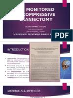 Icp Monitored Decompressive Craniectomy Final Edit