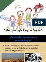 Metodología Reggio Emilia