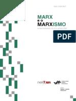 Revista Marx e o Marxismo 2018