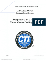 CTI ATC-105_Acceptance Test Code for Water Cooling Towers - Supplement