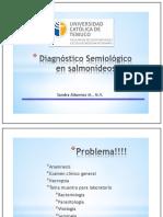 """""""Diagnóstico Semiológico en Salmonídeos I"""""""