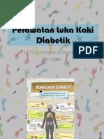 Perawatan Luka Kaki Diabetik