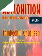 Tambihul Ghaafileen Admonition For the Neglectful
